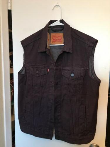 nwt men s levi s denim trucker