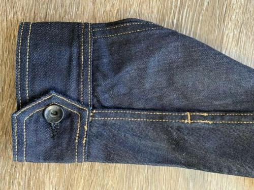 Jeans Jacket Selvage Mens Large $250