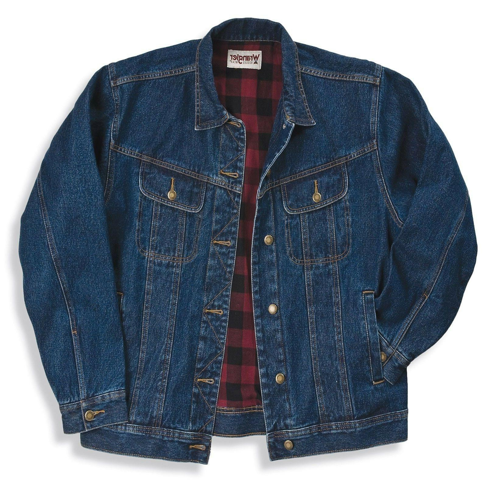 nwt rugged wear flannel lined jacket various