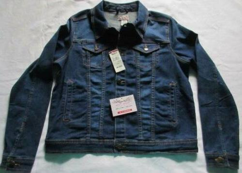 nwt women s large denim jacket tractor
