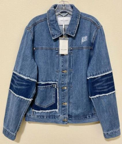 ovadia and sons men s blue distressed