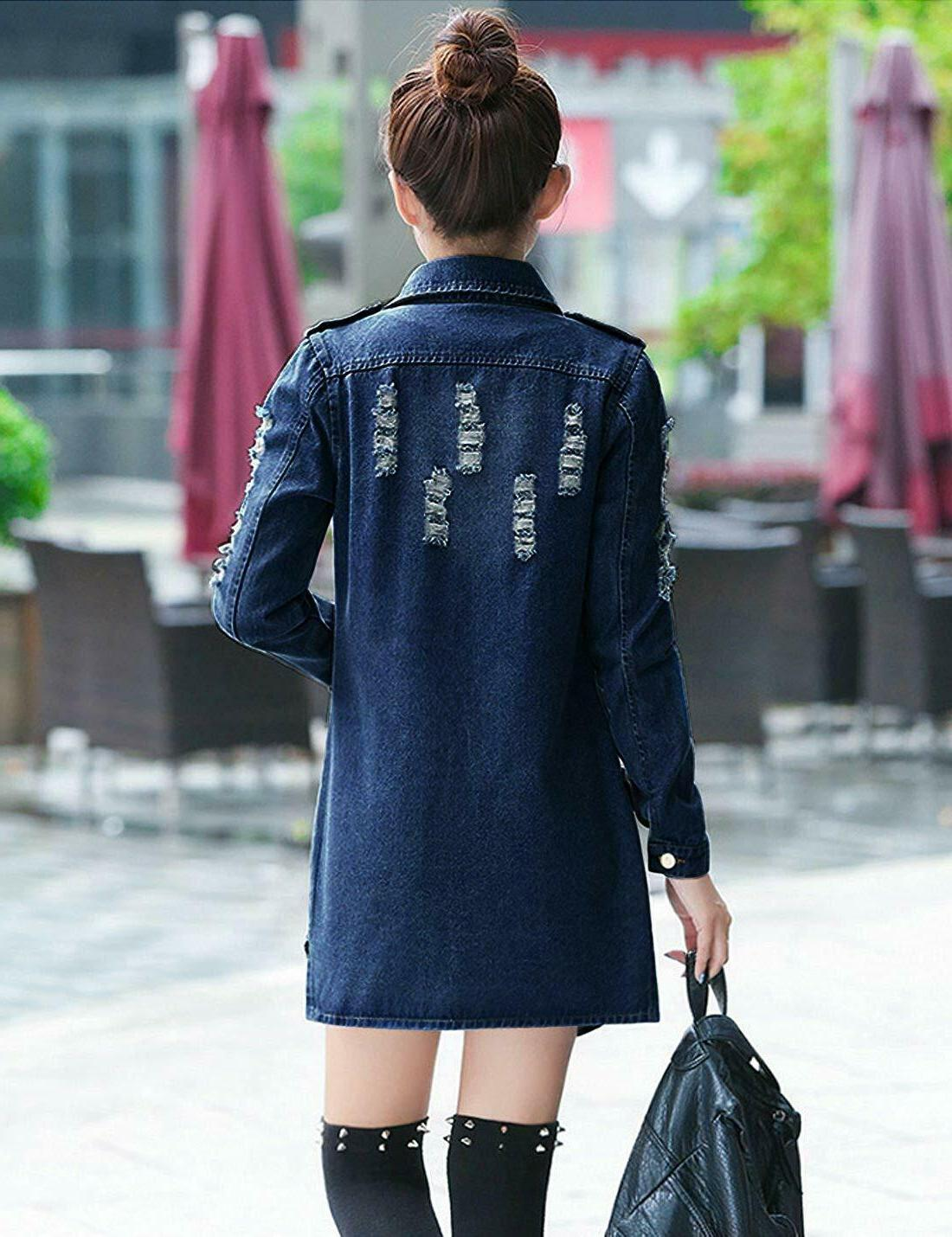 Tanming Slim Long Outercoat Jacket