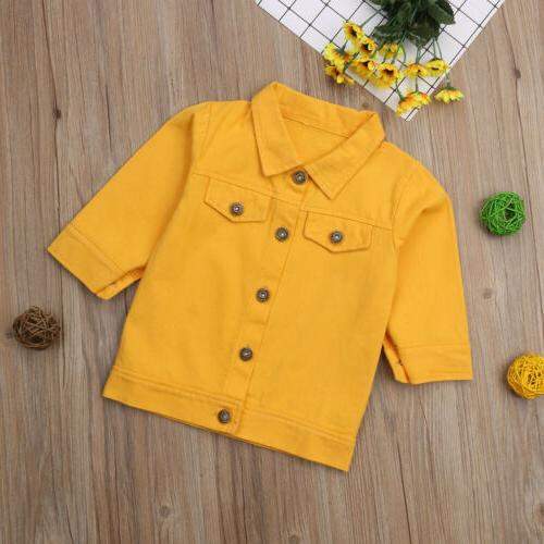 US Baby Button Coat
