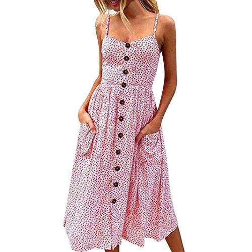 women sleeveless dress 2018 women boho dress