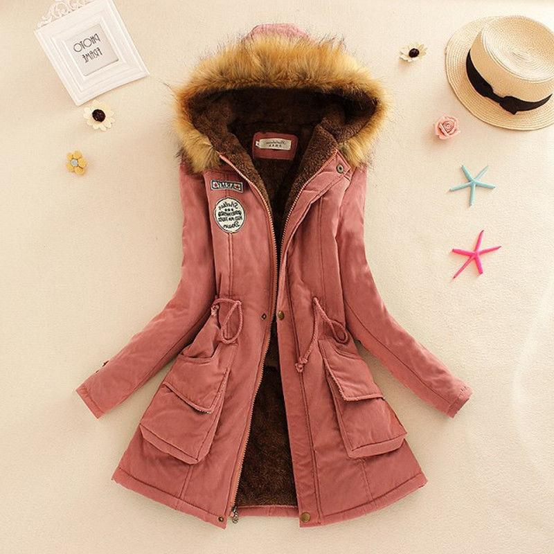 Women Winter Faux Fur Jacket Parka Outwear Advanced