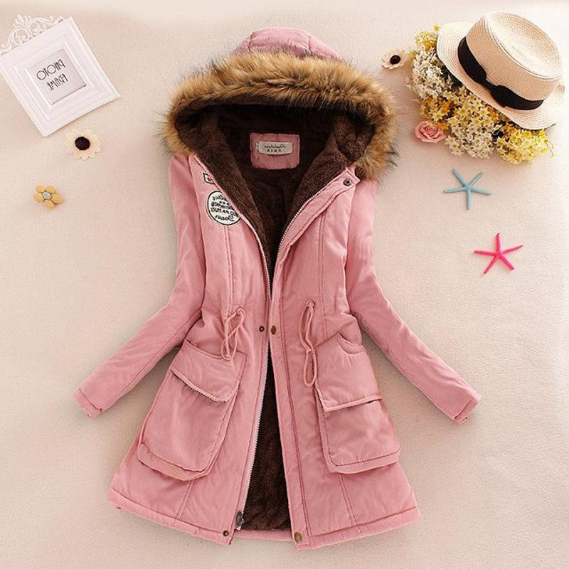 Women Faux Jacket Coat Parka Outwear Advanced