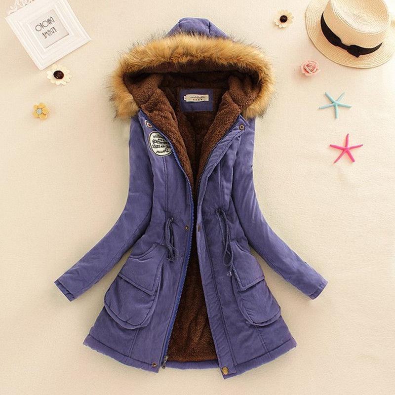 Women Long Sleeve Faux Fur Hooded Jacket Coat Advanced