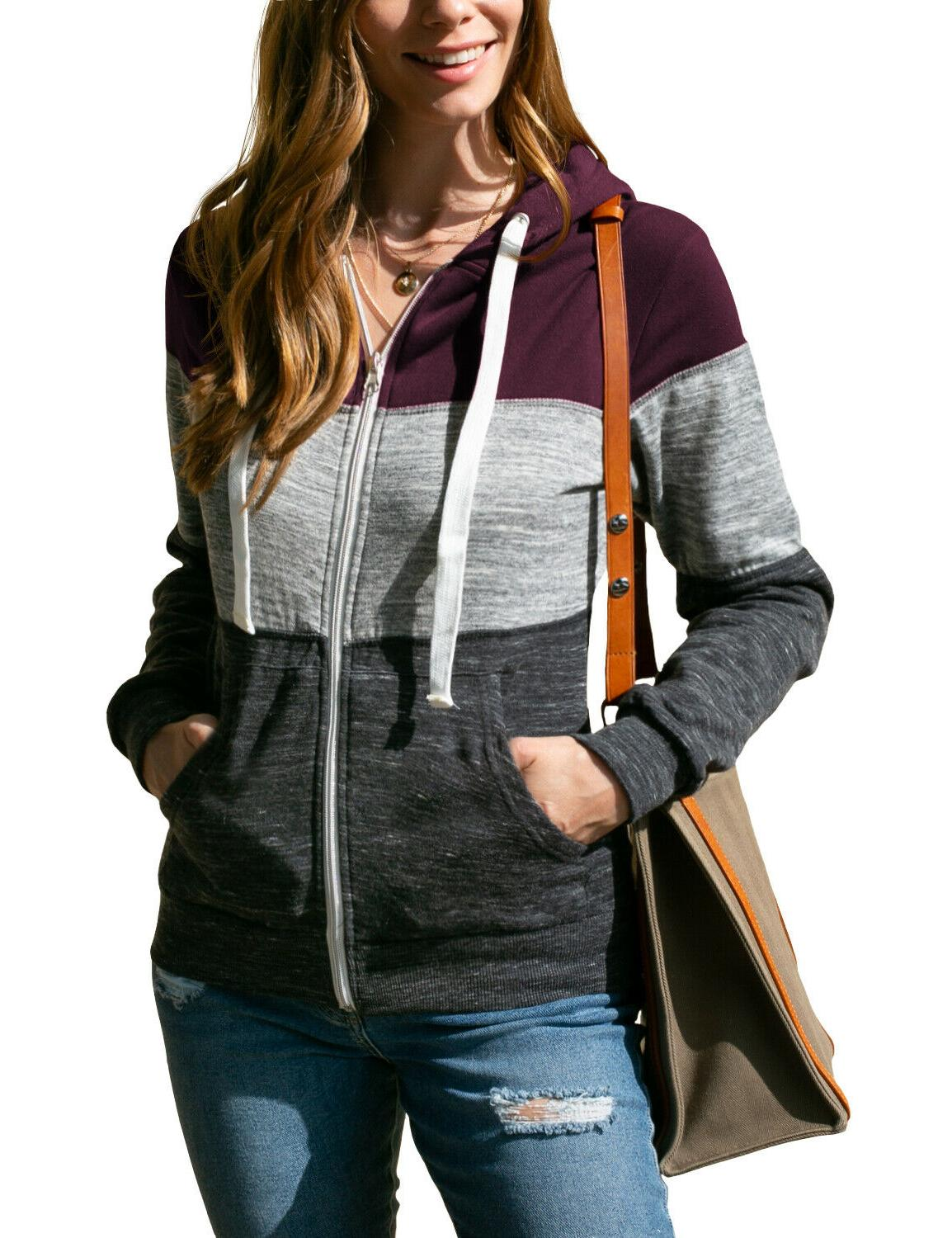 Womens Lightweight Hoodie Jacket for with Size