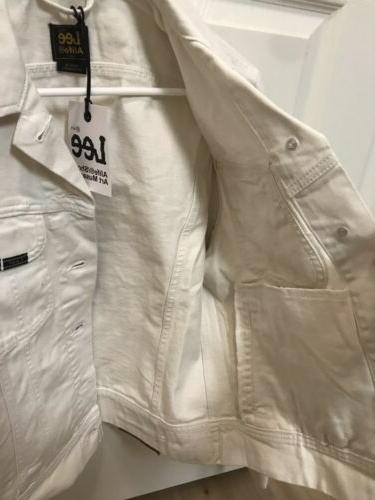 Lee White Jacket! Small!