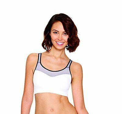 Hanes X-Temp Fit Strappy Pullover Wirefree White/Excalibur