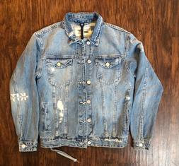 KITH LAIGHT DENIM JACKET HOSU 2.0 WASH BLUE XS-S NWT LIMITED