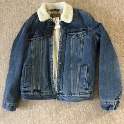 Levi Men's Denim Jacket NEW WITH TAGS - Size Medium