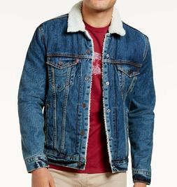 Levi's Big & Tall Men's Sherpa Denim Trucker Jacket - Go Set
