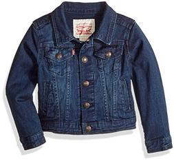 Levi's Big  Girls' Denim Trucker Jacket,Tailored Indigo,M