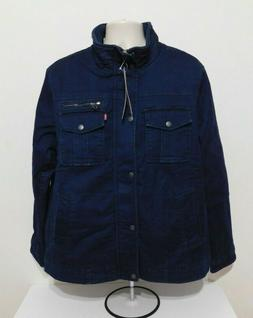 Levi's Denim Mens Full Button Lined Classic Jacket Size LARG