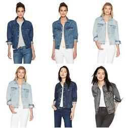 Levi's Fashion Women's Ex-Boyfriend Trucker Jacket's Plus Si
