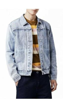 LEVI'S Made and Crafted Faded Blue Jean Denim Jacket Size 1