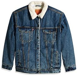 Levi's Men's Big & Tall Sherpa Trucker Jacket, go Set, 4XL