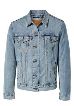 Levi's Men's Cotton Button Up Denim Jeans Trucker Jacket Lig