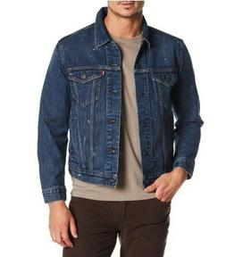 Levi's Men's The Trucker BASTOW Jean Denim Jacket Big and Ta