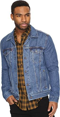 Levi's Men's The Trucker Jacket, Medium Stonewash, Large