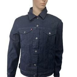 Levi's Men's Trucker Jacket Ii Commuter, Indigo, L