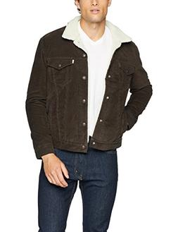 Levi's Men's Type III Sherpa Jacket, Turkish Coffee, XS