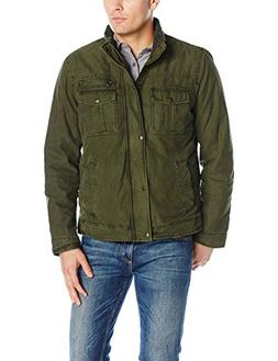 Levi's Men's Washed Cotton Two Pocket Sherpa Lined Trucker J