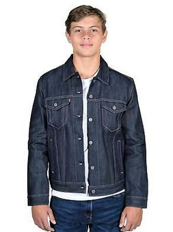 Levi's Mens The Trucker Jacket Raw Denim 723340023