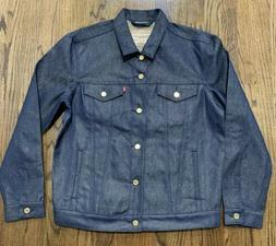 levi s trucker denim jacket gold weft