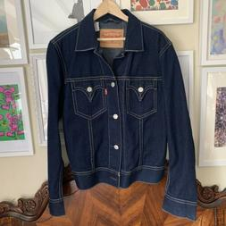 Levi's Type1 Jeans Standard Fit Jacket L Made In USA Levis T