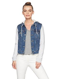 Levi's Women's Hybrid Original Trucker Jackets, New Kid, X-L