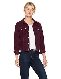 Levi's Women's Original Trucker Jackets, Plush cali Plum, La