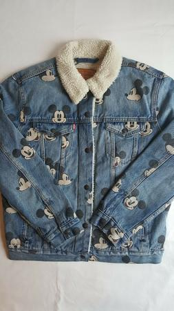 Levi's x Disney Mickey Mouse Type 3 Sherpa Trucker Denim Jea