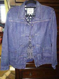 Levis Made and Crafted NEPPY Type 2 Denim Jacket Size Large
