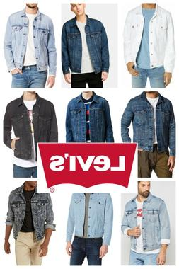 Levis Men's Trucker Jacket Denim Cotton Button Front Denim T