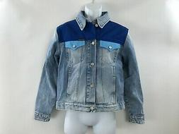 Men's Calvin Klein Blue jean denim western style jacket moho