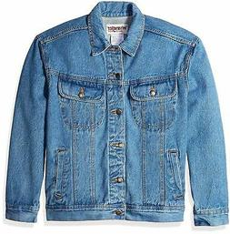 Wrangler Men's Classic Denim Jacket-Motorcycle Edition - Cho