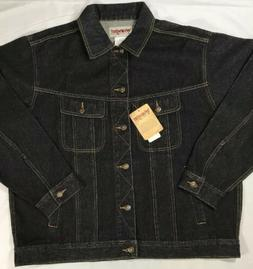 Men's  Wrangler Rugged Wear Denim Jacket Sz XL - NWT