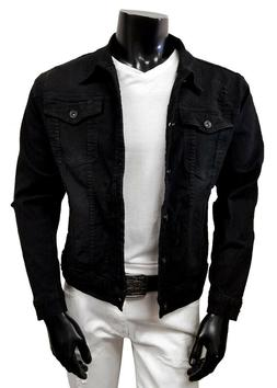 """Chopp Shop Jeans"" Men's Slim Stretch Denim Jacket"