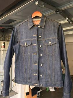 Naked And Famous Denim Jacket Left Hand Twill Selvedge Type