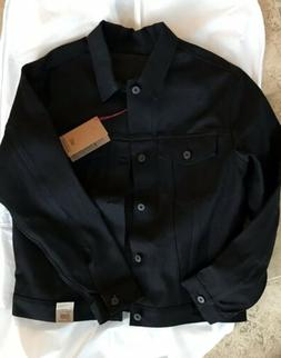Naked & Famous - Men's Black Jacket - Selvage size Large