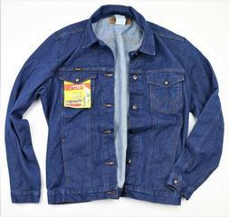 New Wrangler Cowboy Cut Denim Jacket Men's Sizes 100% Cotton