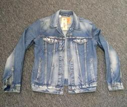 NEW Levi's Vintage Distressed Denim Jacket 72334 0140 Mens s