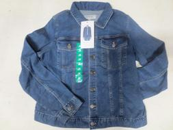 New Calvin Klein Women's Denim Trucker Jean Jacket XL Blue F