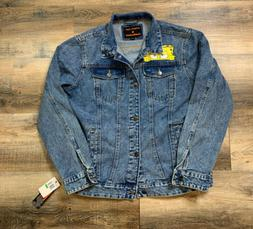 Members Only Nickelodeon SpongeBob Denim Jean Jacket Size La