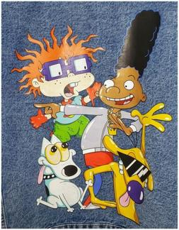 Nickelodeon Members Only X RUGRATS Hey Arnold Rocko Trucker