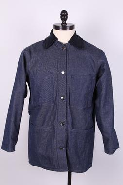 NOS Denim US Made Prison Yard Chore Coat Jackets Qty Discoun