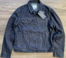 NWT Rag and Bone Jeans Denim Jacket Rinse Selvage Selvedge M