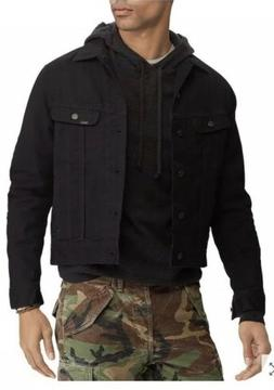 NWT!!Polo Ralph Lauren Stretch Denim Trucker Jacket  Dark Bl